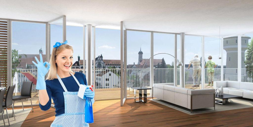 Nettoyage fin bail Lausanne