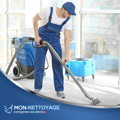 Nettoyage apres travaux